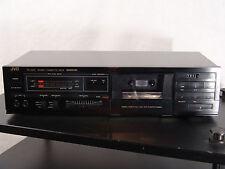 JVC TD-X201J stereo cassette deck - made in Japan