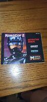 ROBOCOP 2 (Nintendo NES) Original Instruction Manual Only. NO GAME!!!