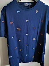 Ralph Lauren designed t-shirt men custom slim fit XL