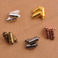 Cylindrical Lace Magnetic Clasps,findings for jewellery making crafts 18X7MM