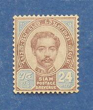 1887 THAILAND 24 ATTS SCOTT# 17 MICHEL.# 13 UNUSED                   CS17534