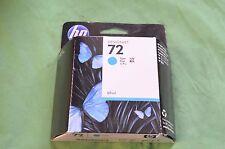 HP 72 Genuine Original  C9398a Ink Cyan  Date 2012
