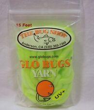 Bug Shop Fat Yarn 5 Yards Moss Green Fly Tying Material Fishing Lure New