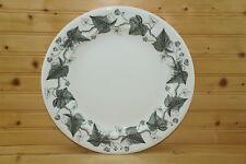 "Wedgwood Napoleon Ivy Black Chop Plate or Round Platter, 12 3/4"""