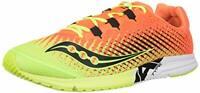 Saucony Men's Type A9 Running Shoe, Citron/Orange, Size 10.5 Fbjk