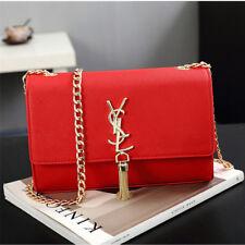 e527f6e3b33d Women Fashion Large Tassels Shoulder Bag Leather Crossbody Handbag Ladies  Bags
