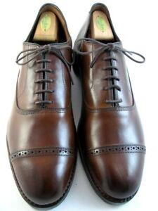 "Allen Edmonds ""Fifth Avenue"" Cap-Toe Oxfords 13 D Dark Chili DAINITE SOLES(590)"