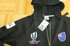 RUGBY World Cup 2019 All Blacks Hoodie M Neuseeland New Zealand Japan Pullover