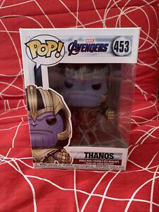 Figurine Marvel Avengers Endgame - Thanos Pop 10cm