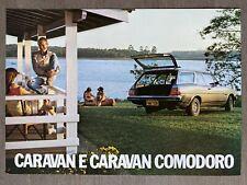 1981 Chevrolet Caravan & Caravan Comodoro original Brazilian sales brochure