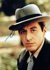 AL PACINO Rare SIGNED Autograph Photo 2 AFTAL COA The Godfather Michael Corleone