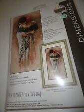 Dimensions Cross stitch kit: The Rose lady with a rose NEW