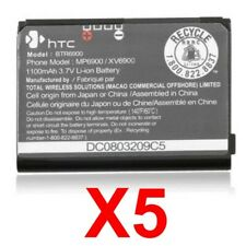 Lot Of 5 OemHtc Btr6900 1100mAh Battery For Vx6900 Touch Ppc6900