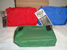 Fishermens utility pouches with leader and yarn dispenser pockets lot #1380
