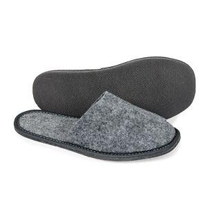 Felt Women`s Handmade slippers ,mules US 5-12, EUR 36 - 46
