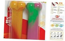 New listing Nylabone Medium/Wolf - Up to 35 lbs. Salami & Cheese and Watermelon Flavor New