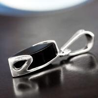 Onyx Silber 925 Anhänger Sterlingsilber Damen Schmuck A452