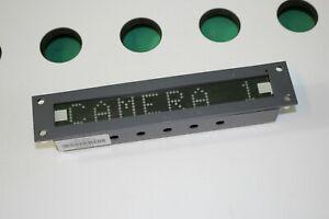 TSL UMD S8C Under Monitor Display Unit. (0000_22D)