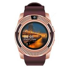 New listing Bluetooth Smart Watch with Camera Gsm Unlocked Watch Phone for Samsung Men Girls