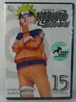 Naruto Shippuden 15 DVD Set Original & Uncut Episodes 180-192 - Brand New Sealed