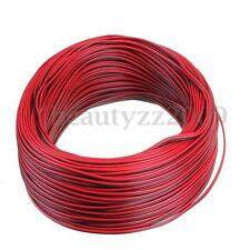 12v Power LED Strip Light Wire Red Black Flexible Extension Connector Cable 5m