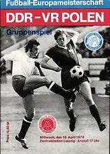 EM-Qualifikation 18.04.1979 DDR - Polen in Leipzig