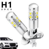 2x H1 Ampoules LED Phare Kit CREE 50W Brouillard FeuVoiture Lampe 6000K
