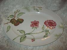 "NWOT ~ LENOX 16"" Oval Platter in WINTER GARDEN"