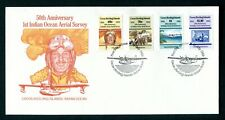 Cocos Keeling 1989 Aerial Survey FDC, First day cover. Australia