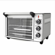 BLACK+DECKER  6-Slice 1500W Convection Toaster Oven - Silver *NEW*