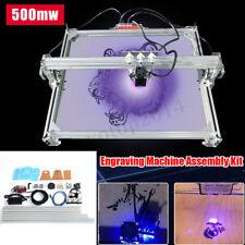 65x50CM Laser Engraving Cutting Cutter Marking Printer Logo Machine Kit 500mw