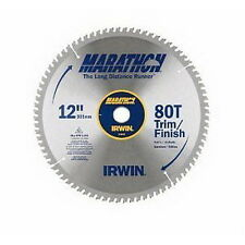 New Irwin Industrial Tools 14083 12-Inch 80-Teeth Miter and Table Saw Blade
