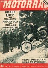 M6506 + BULLERJAN, eine HARLEY-Geschichte 2/2 + Das MOTORRAD Nr 6 vom 13.3.1965