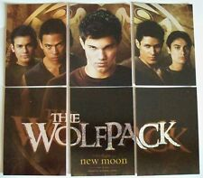 Twilight Saga New Moon Set of 6 Cards The Wolf Pack WP-1 to WP-6 Jacob Sam Embry