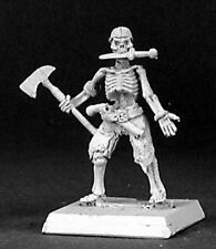 1x PIRATE SKELETON AXE KNIFE - WARLORD REAPER miniature squelette rpg 14349