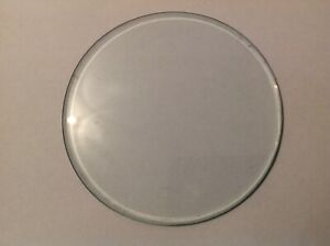 Bevelled Clock Glass Round Flat 80mm diameter