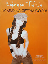 Shania Twain: I'm Gonna Getcha Good! (Piano/Vocal/Guitar Sheet Music) - MINT!