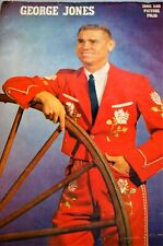 Vintage George Jones Song and Picture Book