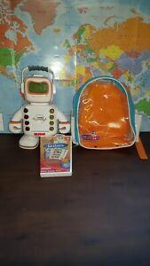 2009 Playskool Alphie Robot Electronic Talking Interactive Educational w/bag B