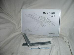 10000 Zinc Aluminium hog ring clip, C-Clip, C24 clip, 15100 clip fence clip