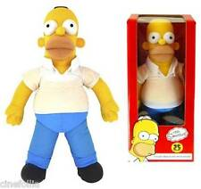 Peluche parlante Homer Simpson - Simpsons 25th Anniversary Talking 16-Inch Plush
