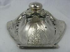 Christofle Gallia Art Nouveau inkwell  / Seltener Jugendstil Tintenbehälter