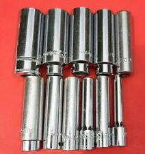 Read Mac Tools 11 Piece Metric 14 Drive Deep Socket Set 5mm 15mm 6 Point Md6