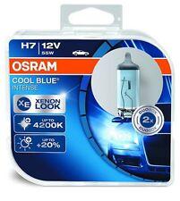 OSRAM H7 COOL BLUE INTENSE XENON LOOK 12V 55W Duo Box 2 Glühbirnen 64210CBI-HCB