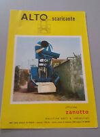 Brochure Leaflet 3 Ante Years 70 Ditta Zanutto - Alto Scaricante