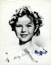 SHIRLEY TEMPLE STAMPED AUTOGRAPH  8X10 REPRINT