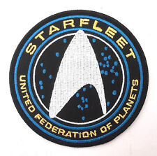 "Star Trek Beyond- Starfleet UFP Silver DELUXE 4"" Embroidered Patch(STPA-SFC-11D)"