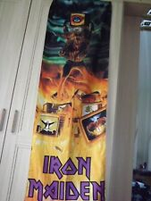 More details for iron maiden scarf / hanging banner