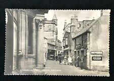 More details for vintage rp postcard, commercial street lerwick shetland, 1960s shops signs d7749