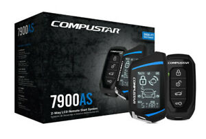 Compustar CS7900AS All-In-One 2-Way Remote Starter, Alarm, Keyless,